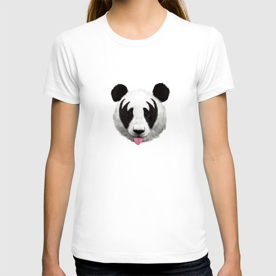Kiss of a panda T-shirt