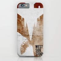 iPhone & iPod Case featuring west side story by alex lodermeier