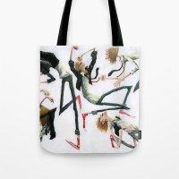 Dancing Dudes Tote Bag