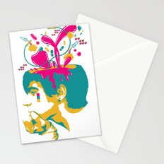 Liquid thoughts:Boy Stationery Cards