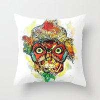 masked Throw Pillow