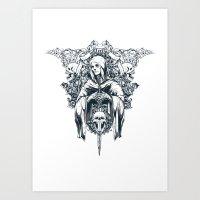 Saint inkfection Art Print
