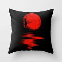 The Land Of The Rising S… Throw Pillow