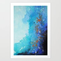 Blue Suede Blues Art Print