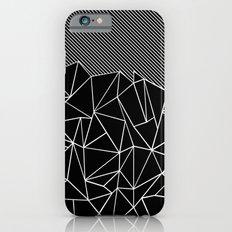 Ab Lines 45 Black iPhone 6 Slim Case