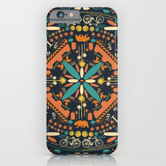 Mandala Los Angeles California iPhone & iPod Case