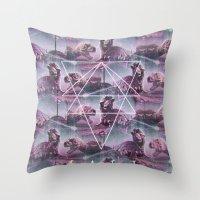 MYSTIC//KALEIDO Throw Pillow