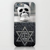 Graveyard Skull iPhone 6 Slim Case