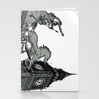 Big Ben And Boudica Stationery Cards