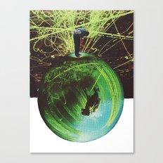 overleaf Canvas Print