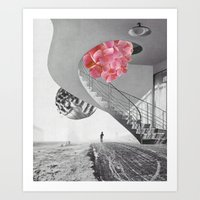 Le départ Art Print