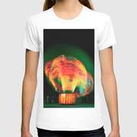 lights T-shirts featuring Lights by Teodora Roşca