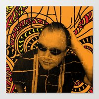 Black Francis, Where Is … Canvas Print