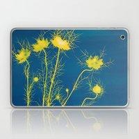 Photogram - Love in the Mist II Laptop & iPad Skin