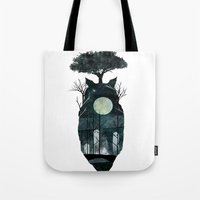 March Of The Forest Spir… Tote Bag