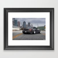 Honda S2000 Framed Art Print