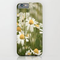 White Flowers iPhone 6 Slim Case