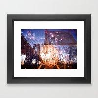 Big Apple Playground Framed Art Print