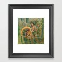 Yellow Tail Framed Art Print