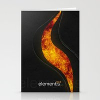 Elements | Fire Stationery Cards