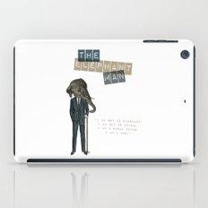 The elephant man iPad Case