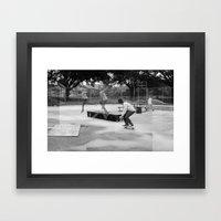 Skater Series #2 Framed Art Print