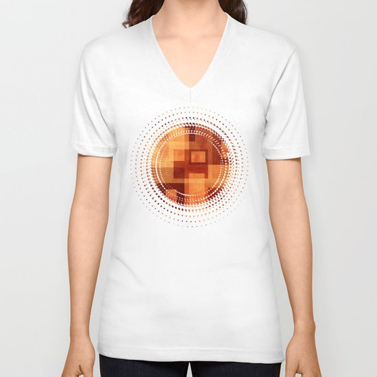 Textures/Abstract 103 V-neck T-shirt