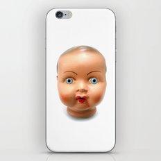 Dolls head iPhone & iPod Skin