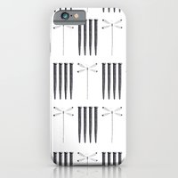 Dagonfly & nails iPhone 6 Slim Case