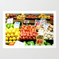 pike place market (one) Art Print