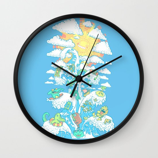 Tower of Fable Wall Clock