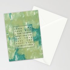 Awake My Soul II Stationery Cards