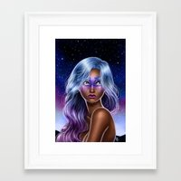 Midnight Oracle  Framed Art Print