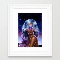 Midnight Oracle  Framed Art Print