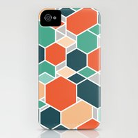 iPhone Cases featuring Hex P by Leandro Pita