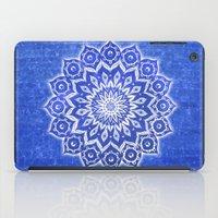 okshirahm, blue crystal iPad Case