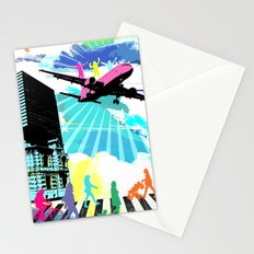 City Cloud Stationery Cards