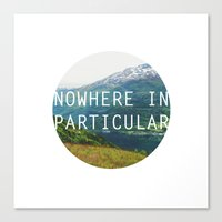 Nowhere In Particular Canvas Print