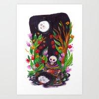 Noche de Ronda Art Print