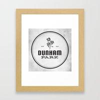 Dunham Park Framed Art Print