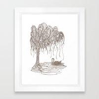 Dreaming Tree Framed Art Print