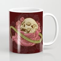 Skull N Roses Mug