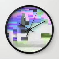 scrmbmosh30x4b Wall Clock