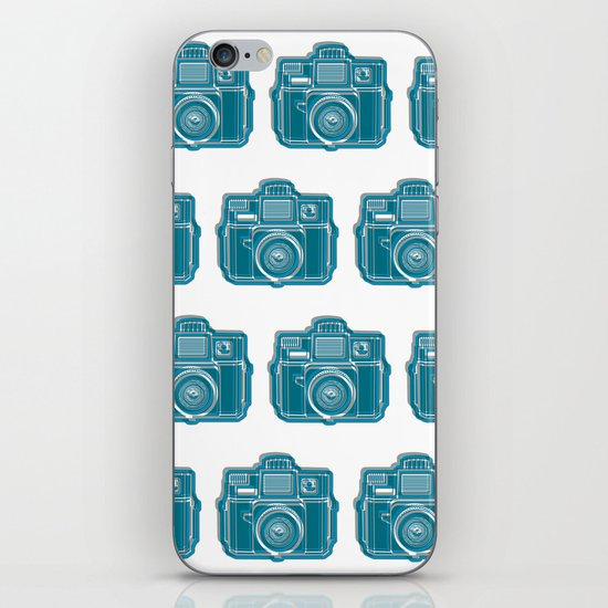 I Still Shoot Film Camera Logo iPhone & iPod Skin