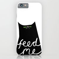 iPhone & iPod Case featuring feed me by sixsixninenine