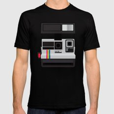 Polaroid Supercolor 635CL Black Mens Fitted Tee SMALL