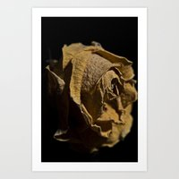 Dead yellow Art Print
