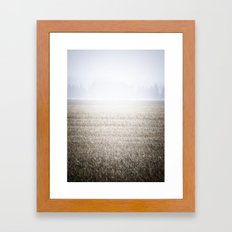 The Lawn Framed Art Print