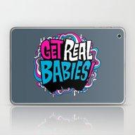 Laptop & iPad Skin featuring Get Real.... by Chris Piascik