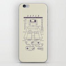 Super Entertainment System (light) iPhone & iPod Skin